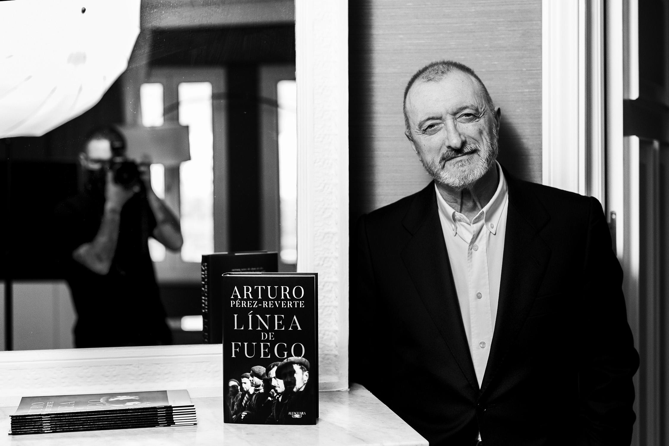 Arturo Pérez-Reverte ©Jeosm