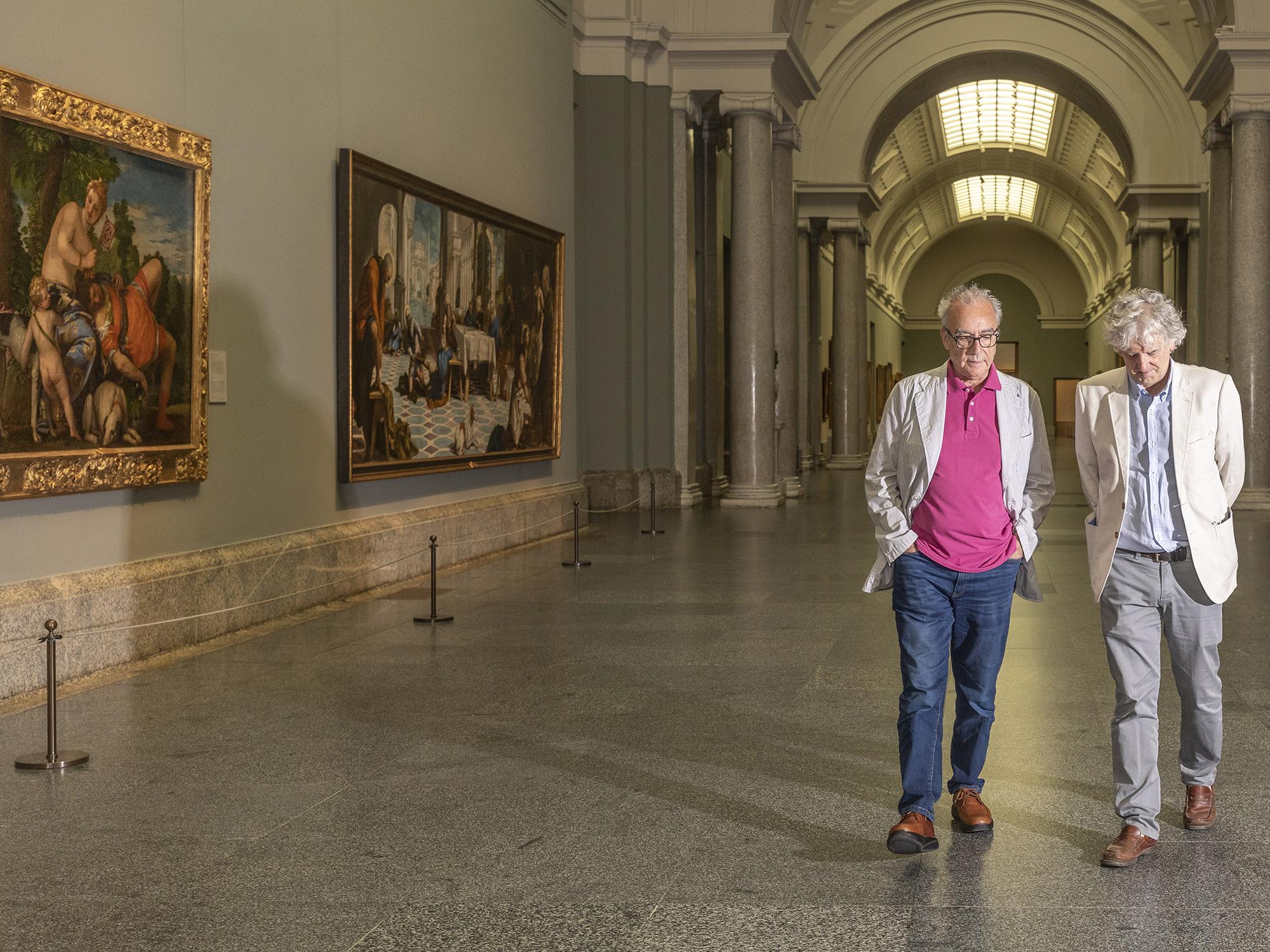 Juan José Millás y Juan Luis Arsuaga ©Jeosm 2